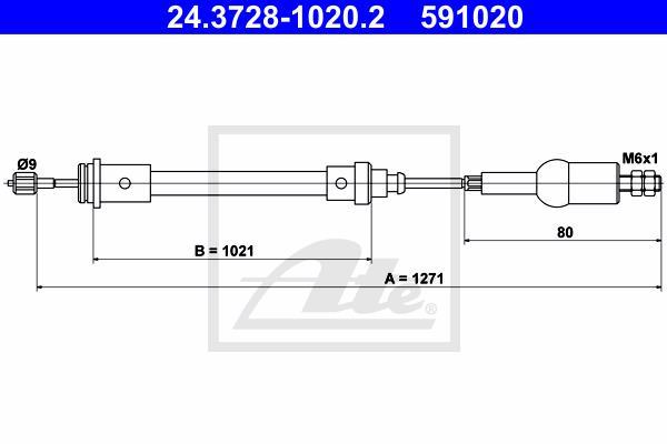 Ilustracja 24.3728-1020.2 ATE linka sprzęgła