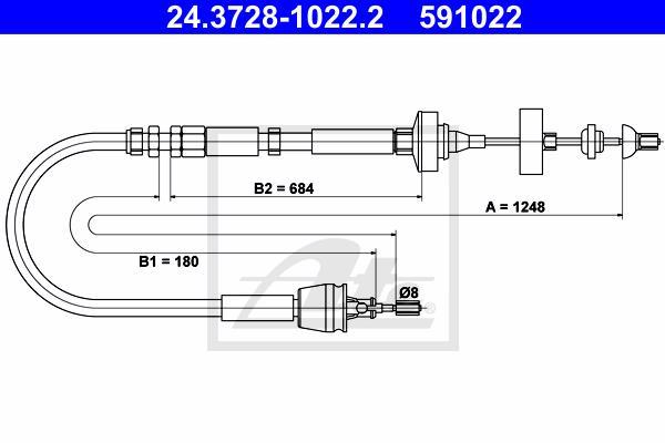 Ilustracja 24.3728-1022.2 ATE linka sprzęgła