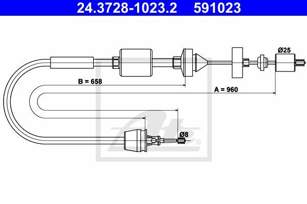 Ilustracja 24.3728-1023.2 ATE linka sprzęgła