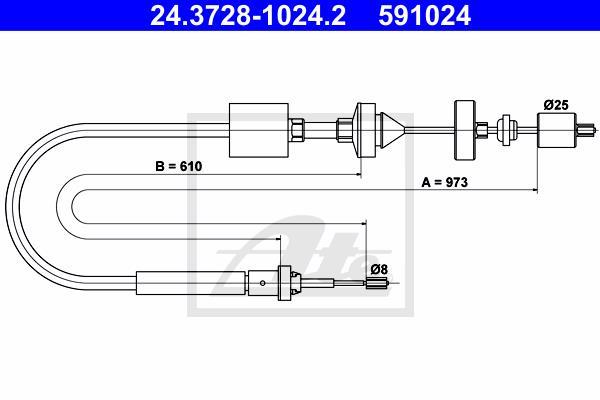 Ilustracja 24.3728-1024.2 ATE linka sprzęgła