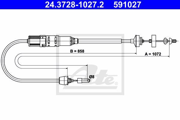 Ilustracja 24.3728-1027.2 ATE linka sprzęgła