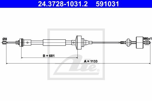 Ilustracja 24.3728-1031.2 ATE linka sprzęgła
