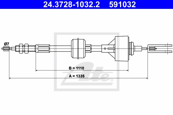 Ilustracja 24.3728-1032.2 ATE linka sprzęgła
