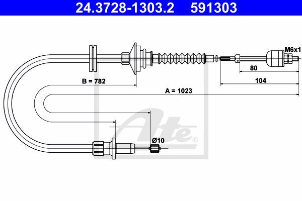 Ilustracja 24.3728-1303.2 ATE linka sprzęgła