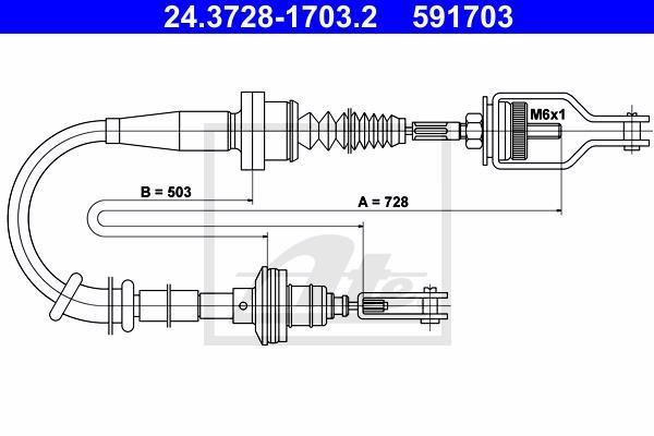 Ilustracja 24.3728-1703.2 ATE linka sprzęgła