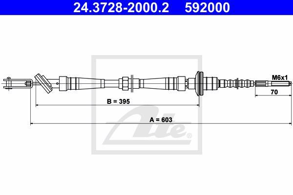 Ilustracja 24.3728-2000.2 ATE linka sprzęgła