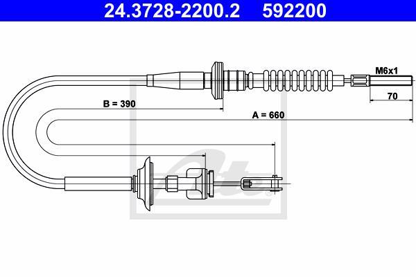 Ilustracja 24.3728-2200.2 ATE linka sprzęgła