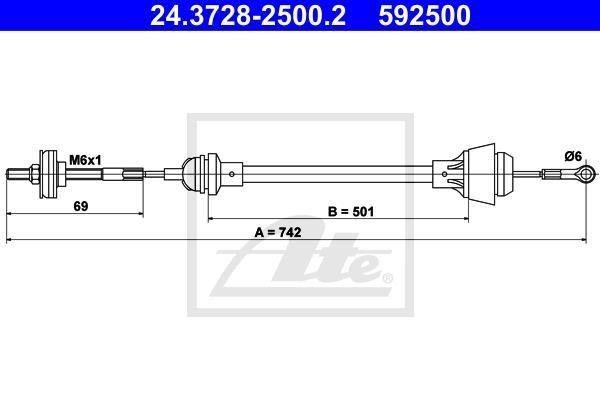 Ilustracja 24.3728-2500.2 ATE linka sprzęgła