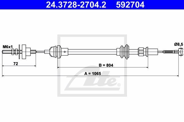 Ilustracja 24.3728-2704.2 ATE linka sprzęgła