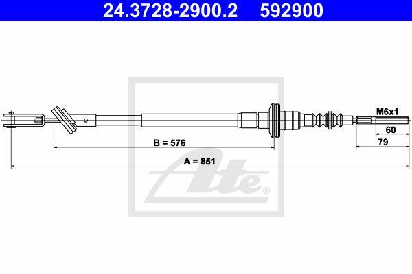 Ilustracja 24.3728-2900.2 ATE linka sprzęgła