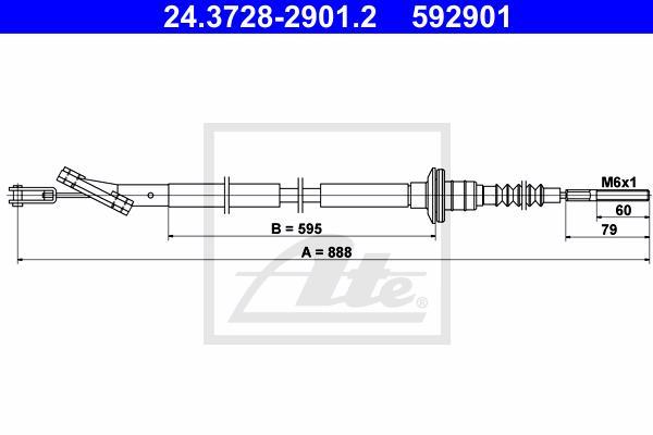 Ilustracja 24.3728-2901.2 ATE linka sprzęgła