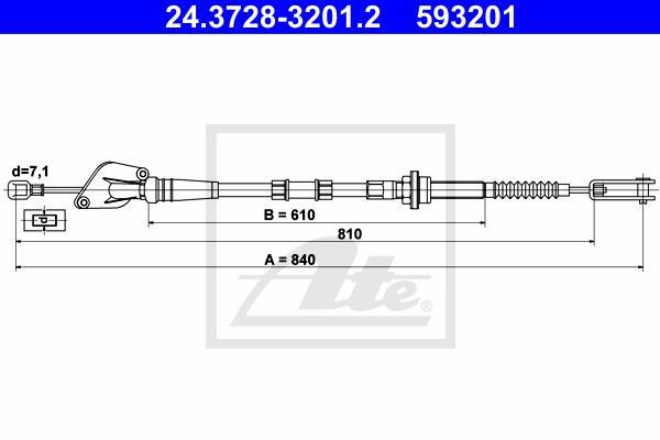 Ilustracja 24.3728-3201.2 ATE linka sprzęgła