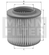 Ilustracja C 16 142/1 MANN-FILTER filtr powietrza
