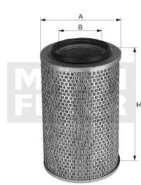 Ilustracja C 17 235 MANN-FILTER filtr powietrza