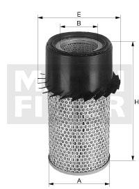 Ilustracja C 16 190/4 MANN-FILTER filtr powietrza