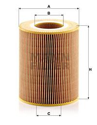Ilustracja C 1381 MANN-FILTER filtr powietrza