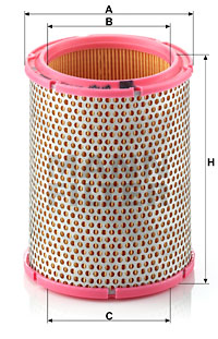 Ilustracja C 1440/1 MANN-FILTER filtr powietrza