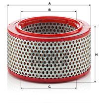 Ilustracja C 1427 MANN-FILTER filtr powietrza