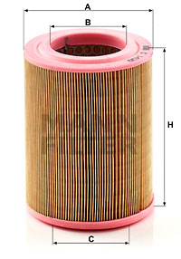 Ilustracja C 1430 MANN-FILTER filtr powietrza