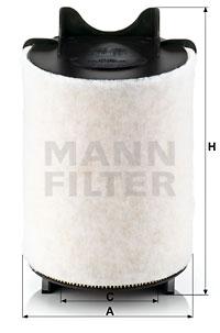 Ilustracja C 14 130/1 MANN-FILTER filtr powietrza