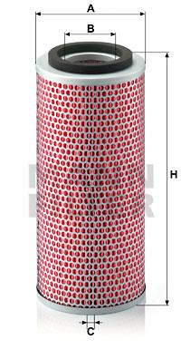 Ilustracja C 14 140 MANN-FILTER filtr powietrza