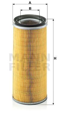 Ilustracja C 14 159 MANN-FILTER filtr powietrza