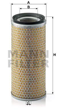 Ilustracja C 14 179/2 MANN-FILTER filtr powietrza