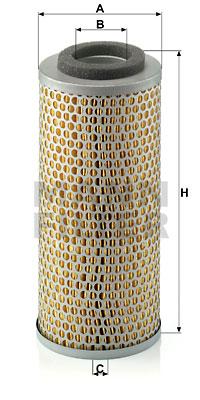 Ilustracja C 14 171 MANN-FILTER filtr powietrza