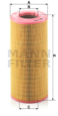 Ilustracja C 14 190/1 MANN-FILTER filtr powietrza