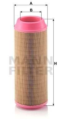 Ilustracja C 14 200 MANN-FILTER filtr powietrza