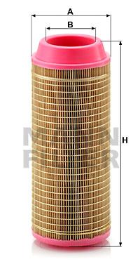 Ilustracja C 14 200/3 MANN-FILTER filtr powietrza