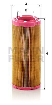 Ilustracja C 14 210/2 MANN-FILTER filtr powietrza