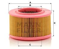 Ilustracja C 1540/3 MANN-FILTER filtr powietrza