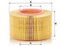 Ilustracja C 1552 MANN-FILTER filtr powietrza