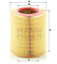 Ilustracja C 1567 MANN-FILTER filtr powietrza