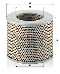 Ilustracja C 1574 MANN-FILTER filtr powietrza