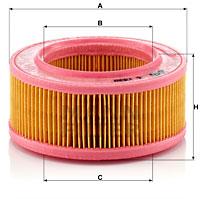 Ilustracja C 1530 MANN-FILTER filtr powietrza