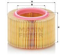 Ilustracja C 1530/1 MANN-FILTER filtr powietrza