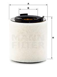 Ilustracja C 15 008 MANN-FILTER filtr powietrza