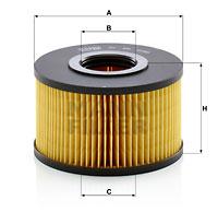 Ilustracja C 15 015 MANN-FILTER filtr powietrza
