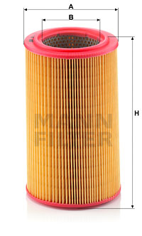 Ilustracja C 15 104 MANN-FILTER filtr powietrza