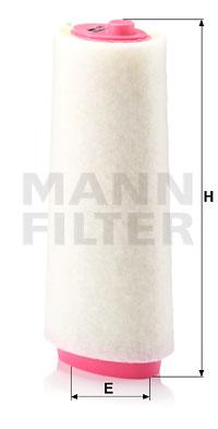 Ilustracja C 15 105/1 MANN-FILTER filtr powietrza
