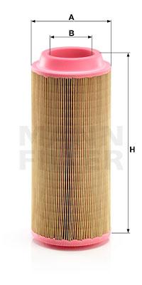 Ilustracja C 15 100 MANN-FILTER filtr powietrza