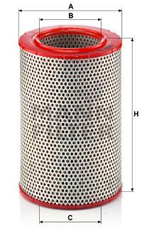 Ilustracja C 15 120 MANN-FILTER filtr powietrza