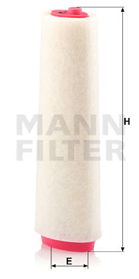 Ilustracja C 15 143/1 MANN-FILTER filtr powietrza