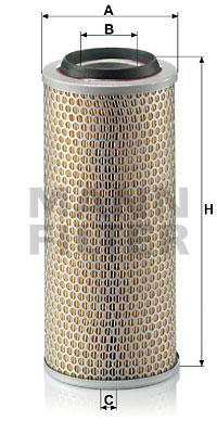 Ilustracja C 15 165/3 MANN-FILTER filtr powietrza