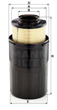 Ilustracja C 15 200 MANN-FILTER filtr powietrza