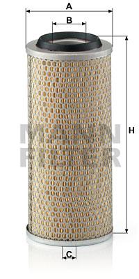 Ilustracja C 15 260 MANN-FILTER filtr powietrza