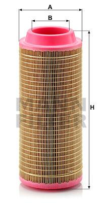 Ilustracja C 15 300/3 MANN-FILTER filtr powietrza