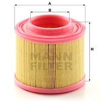 Ilustracja C 1677 MANN-FILTER filtr powietrza